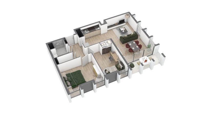 appartement A105 de type T3