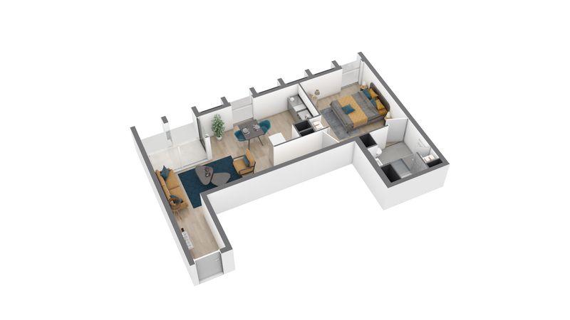 appartement A113 de type T2