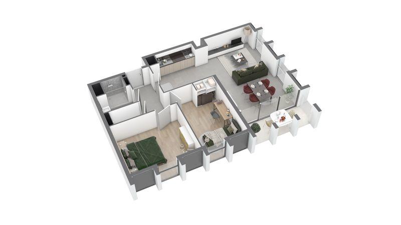 appartement A115 de type T3