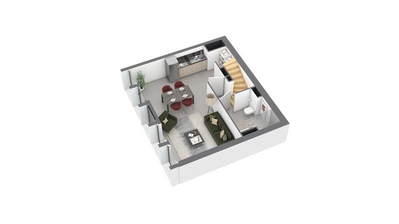 maison M01 de type T3